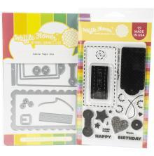 Waffle Flower Stamp & Die Set - Surface Tag