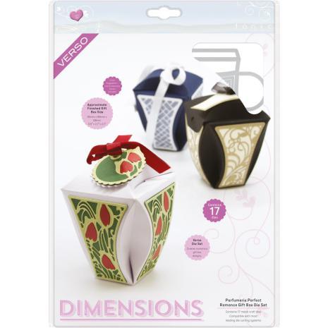 Tonic Studios Verso Dimensions Dies - Parfumerie Perfect Romance Gift Box S