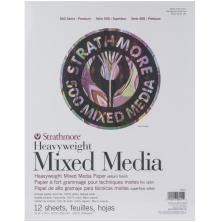 Strathmore 500 Series Heavyweight Mixed Media Pad 11X14 12 Sheets