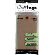 Ranger Inkssentials Brown Kraft Surfaces 20/Pkg - No 5