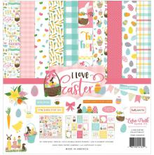 Echo Park Collection Kit 12X12 - I Love Easter