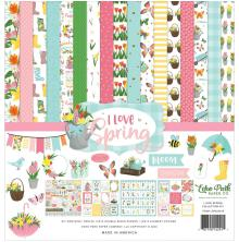 Echo Park Collection Kit 12X12 - I Love Spring