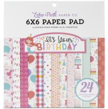 Echo Park Double-Sided Paper Pad 6X6 - It´s Your Birthday Girl