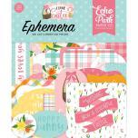 Echo Park I Love Easter Cardstock Die-Cuts 33/Pkg - Ephemera