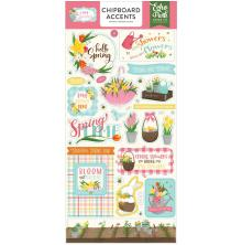 Echo Park I Love Spring Chipboard 6X13 - Accents