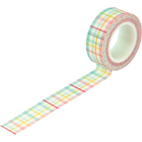 Echo Park I Love Spring Decorative Tape - Springtime Plaid