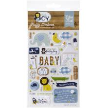Echo Park Puffy Stickers - Baby Boy