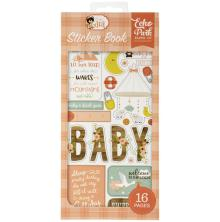 Echo Park Sticker Book - Baby Girl