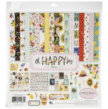 Carta Bella Collection Kit 12X12 - Oh Happy Day Spring