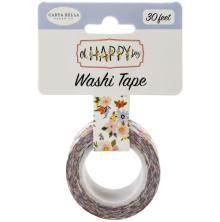 Carta Bella Oh Happy Day Spring Washi Tape - Happy Day Floral