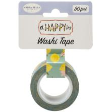 Carta Bella Oh Happy Day Spring Washi Tape - Sweet Lemons