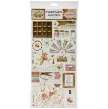 Carta Bella Farmhouse Market Chipboard 6X13 - Accents