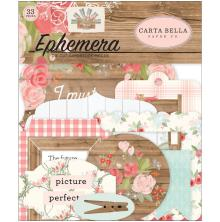 Carta Bella Farmhouse Market Cardstock Die-Cuts 33/Pkg - Ephemera
