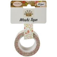 Carta Bella Farmhouse Market Washi Tape - Sweet Blooms