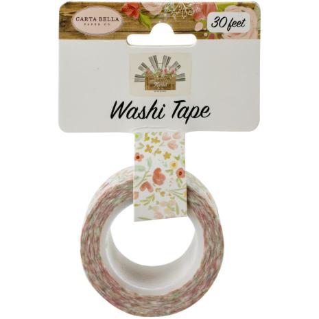 Carta Bella Farmhouse Market Washi Tape - Sweet Blooms