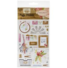 Carta Bella Puffy Stickers - Farmhouse Market