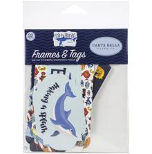 Carta BellaFish Are Friends Cardstock Die-Cuts 33/Pkg - Ephemera