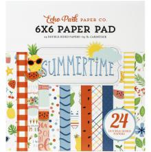 Echo Park Double-Sided Paper Pad 6X6 - Summertime
