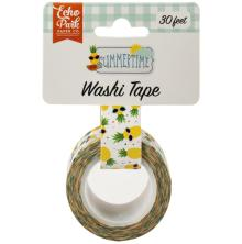 Echo Park Summertime Decorative Tape - Cool Pineapples