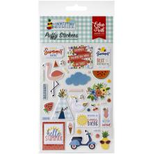 Echo Park Puffy Stickers - Summertime
