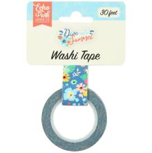 Echo Park Dive Into Summer Decorative Tape - Aloha Floral