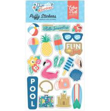 Echo Park Puffy Stickers - Dive Into Summer
