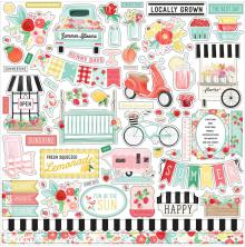 Carta Bella Cardstock Stickers 12X12 - Elements