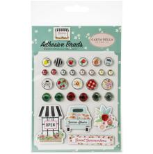 Carta Bella Decorative Brads - Summer Market