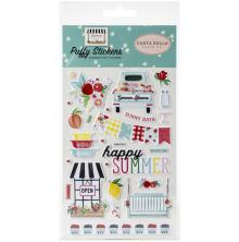 Carta Bella Puffy Stickers - Summer Market