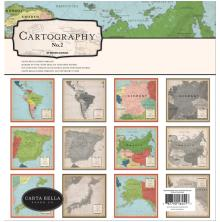 Carta Bella Collection Kit 12X12 - Cartography No. 2