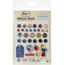 Carta Bella Decorative Brads - School Days