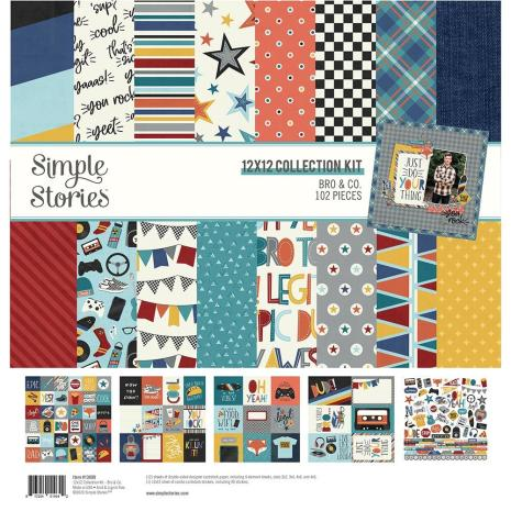 Simple Stories Collection Kit 12X12 - Bro & Co.