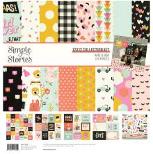 Simple Stories Collection Kit 12X12 - Kate & Ash