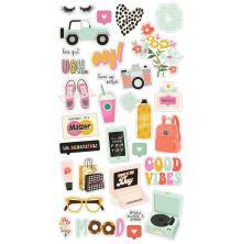 Simple Stories Chipboard Stickers 6X12 31/Pkg - Kate & Ash