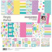Simple Stories Collection Kit 12X12 - Magical Birthday