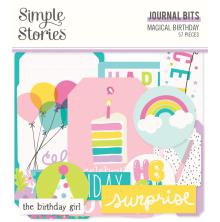 Simple Stories Journal Bits & Pieces Die-Cuts 57/Pkg- Magical Birthday