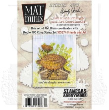 Wendy Vecchi Mat Minis - Friends And Art