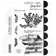 Wendy Vecchi Cling Stamps - Ricks Art