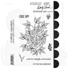 Wendy Vecchi Cling Stamps - Awesome Art