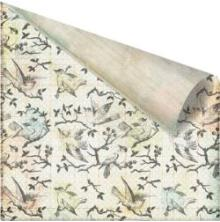 Prima Nature Garden Double-Sided Cardstock 12X12 - Blackthorn