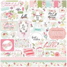Carta Bella Flora No. 3 Cardstock Stickers 12X12 - Elements