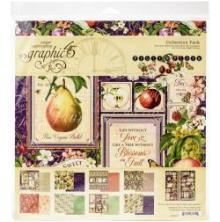 Graphic 45 Collection Pack 12X12 - Fruit & Flora