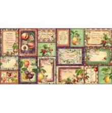 Graphic 45 Ephemera Cards - Fruit & Flora