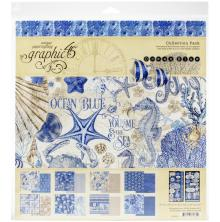 Graphic 45 Collection Pack 12X12 - Ocean Blue
