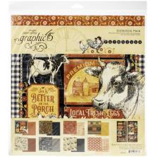 Graphic 45 Collection Pack 12X12 - Farmhouse