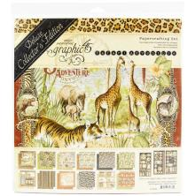 Graphic 45 Deluxe Collectors Edition Pack 12X12 - Safari Adventure