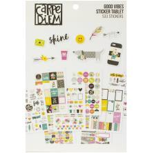 Simple Stories Carpe Diem A5 Planner Sticker Tablet - Good Vibes