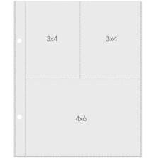 Simple Stories Pocket Pages 6X8 10/Pkg - 2005