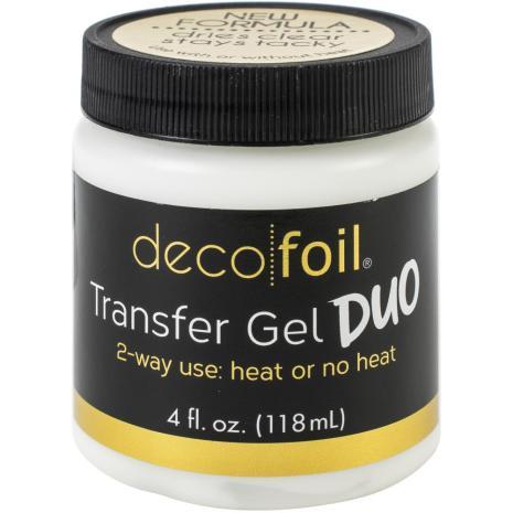 Deco Foil Transfer Gel DUO 118ml (4Fl Oz)