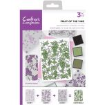 Crafters Companion Background Layering Stamps - Fruit of the Vine